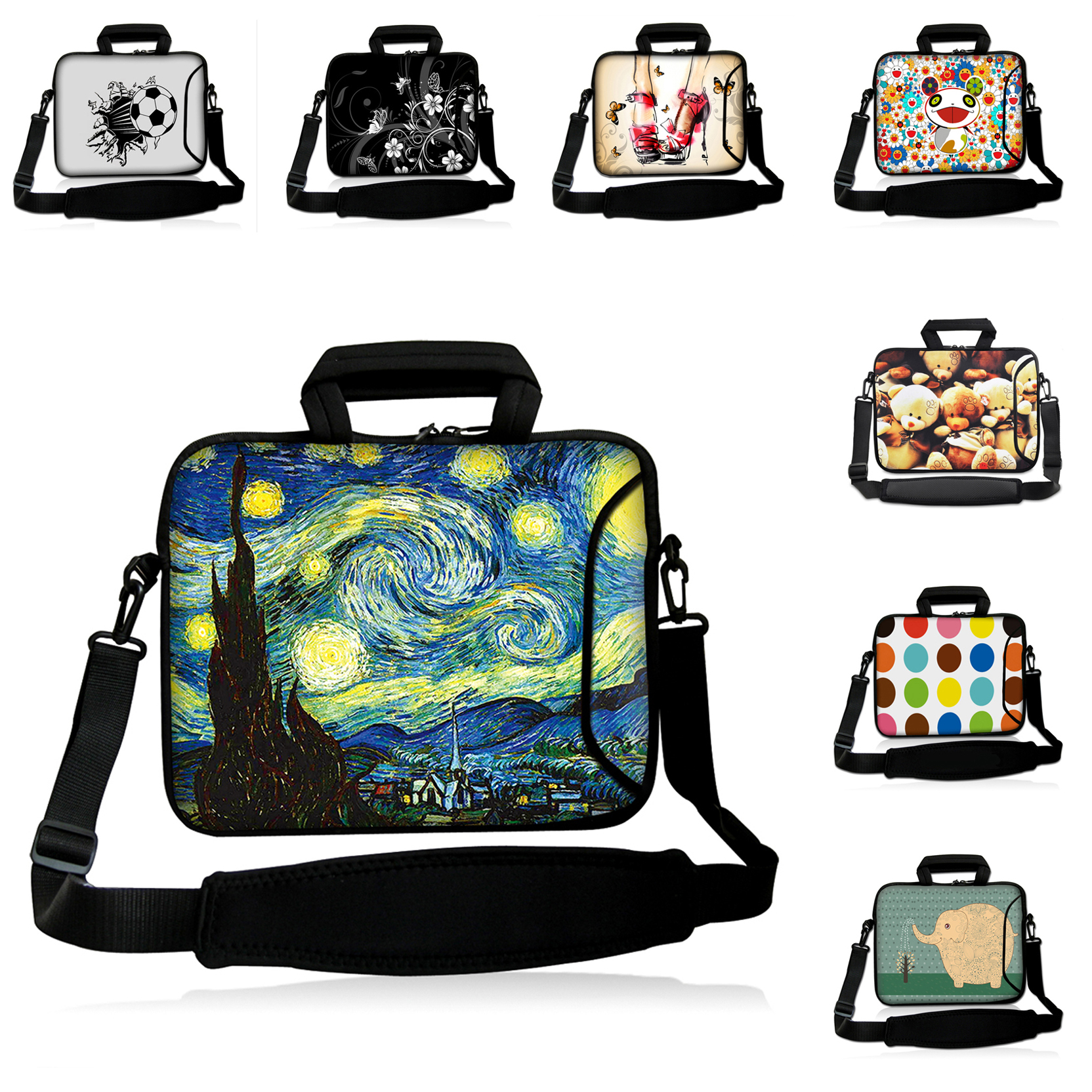 Student E-book Laptop Pouch Cover 15 15.6 15.3 15.4 inch Shoulder Strap Messenger Laptop Computer Bags For Macbook Pro Lenovo HP<br><br>Aliexpress