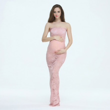 Maternity Dress for Photo Shoot Maternity Gown for Photo Shoot Maternity Dress for Baby Shower Maternity Maxi Dress Boob Tube