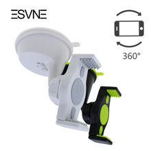ESVNE Universal Car phone holder for iphone 360 rotation cell Phone holder Windshield Car holder car mobile phone holder stand
