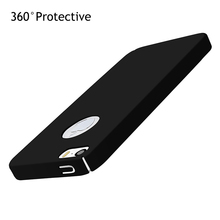 Plastic Case For iPhone 5S 5 S 6 6S 7 Coque Luxury 360 Degree Full Protect Hard Matte Phone Bag Case For iPhone 5S 5 SE