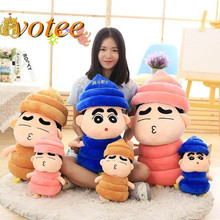 Crayon doll manure bucket kun plush toys large dolls poo Baba doll birthday gift to send his girlfriend