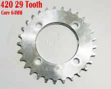 420 29 Teeth Core 64mm Electric Scooter Chain Sprocket Dirt Kid Cross Bike ATV Quad Mini Moto - MingYang Motor&Accessories co,.LTD store