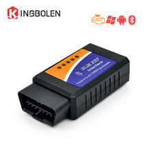 Super ELM327 V2.1 Interface code reader Works On Android Torque Elm 327 Bluetooth OBD2/OBD II Car Diagnostic tool ELM327 V2.1