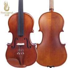 Free Shipping FineLegend 4/4 Full Size Professional Violin Zizyphus Jujuba Matte Handmade with Bow, Case, Rosin LCV1123