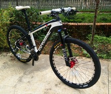 Hot selling  26/27.5*2.1 inch tires,  24/27/30 speed, carbon fiber bike  ,MTB  carbon mountain bicycle, 27.5er carbon  bike