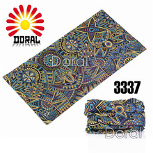 Multifunctional Seamless Scarf 25*48cm Custom Headbands Bandana Tubular Scarf Plastic Head Scarf(China)