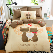 New Style Minimalist Soft and Comfortable Bedding Sets  Duver Cover 100% Polyester Single-piece quilt 180cm/200cm  1pcs