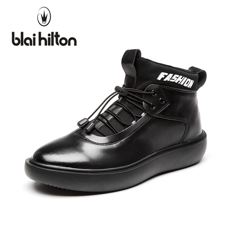 blaibilton Brand 2018 Patchwork High Top Fashion Men Shoes Casual Sneakers Footwear Male Cool Hightop Shoes High Quality SD2210<br>