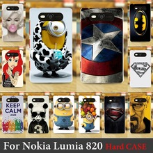 For Nokia Lumia 820 case Hard Plastic Cellphone Mask Case Protective Cover Housing Skin Shipping Free
