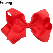 Feitong Hot Sale Kids Hair Clips Fabric Flowers Girl Butterfly BowKnot Hair Clip Barrette Hair Bow Pince Cheveux Hair Accessorie