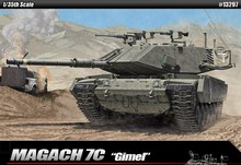 Academy Plastic Model Kit 1/35 Magach 7C Gimel Tank Toy 13297