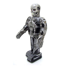MS288 terminator wind up robot collection toys Creative gifts tintoy tin toys wholesale bar decoration toy(China)