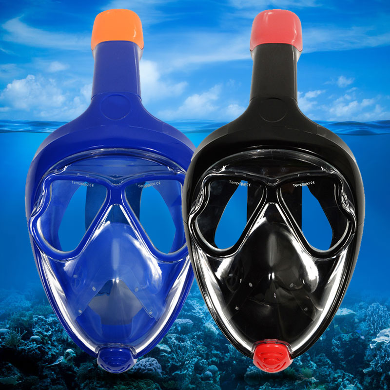 Liquid Silicone+PC Full Face Diving Mask (2)