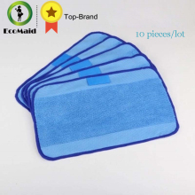 10 pcs/Lot Microfiber Mopping Cloths for iRobot Braava 321 380 320 380t mint 5200C 5200 4200 4205 Robot