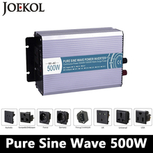 500W pure sine wave inverter,DC 12V/24V/48V to AC 110V/220V,off grid inversor,solar power invertor,voltage converter LED Display