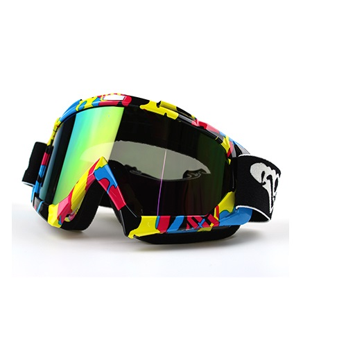 Motorcycle ATV MX DirtBike Motocross off road helmet dust proof wind proof glasses skiing glasses eyewear snow mobile slow down goggles-2