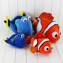 Hot 4pcs/lot 2016 Movie Finding Dory finding nemo Plush Animals Toys Stuffed Plush Toys