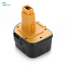 For DeWalt DVISI 12V 3600mAh Battery Rechargeable Power Tools Batteries Cordless Drill for DE9071 2802K DE9074 DE9075 Ni-MH(China)