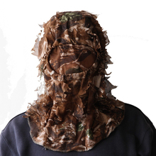 3D Sneaky Hunting/face Mask Camo Head Net mesh turkey deer MO face turkey deer