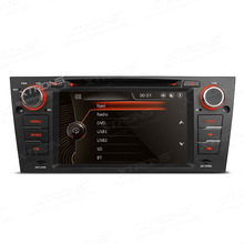 "XTRONS 7"" in dash single 1 din car DVD Player 1080P video Touch screen GPS Navigation audio Canbus for BMW E90 E91 E92 E93"