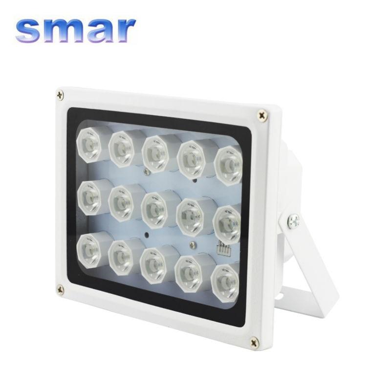 CCTV 15LED Array IR Illuminator Lamp 12V 15W Outdoor Night Vision for Security CCTV Camera<br>