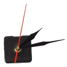 Quartz clock Movement Mechanism 3 Black + Red Needle DIY Repair(China)