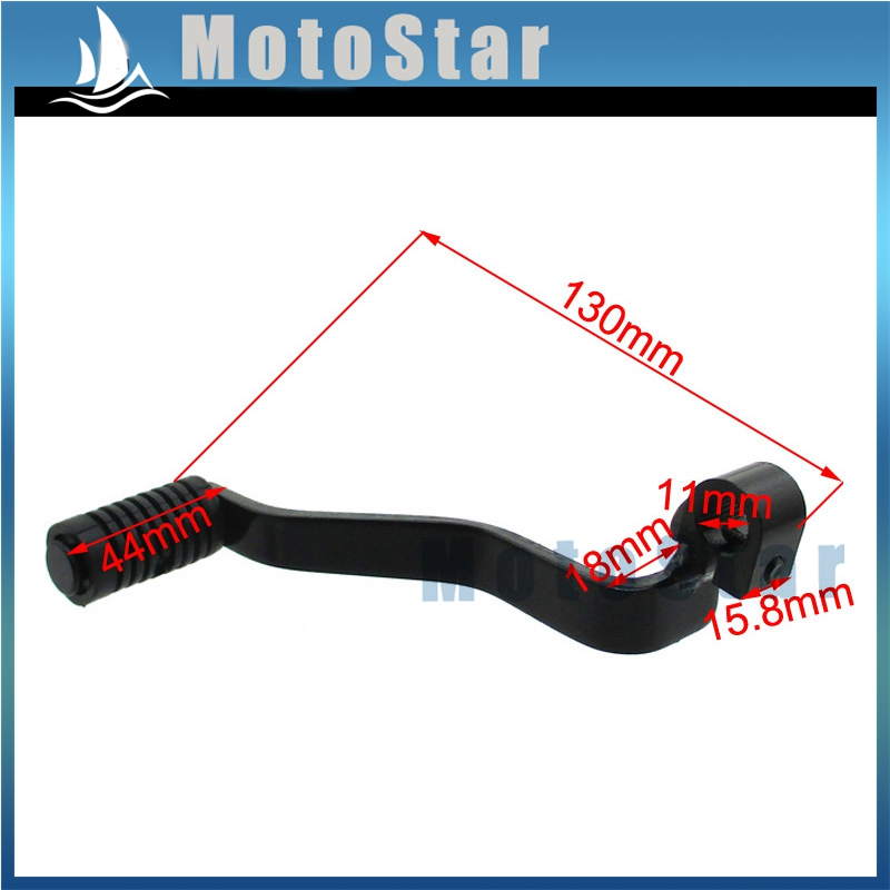 STONEDER 13mm Kick Starter 11mm Gear Shifter Lever For Chinese 50 66 90 125cc Pit Bike