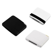 Stereo Sound Chip A2DP Bluetooth V2.0 Audio Music Receiver Adapter for iPad iPod iPhone 30Pin Dock Speaker 3 Colors Wholesale(China)