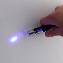 Powerful 5mw 405nm Professional Lazer Blue/Violet Laser Pointer Pen Beam Light(China)