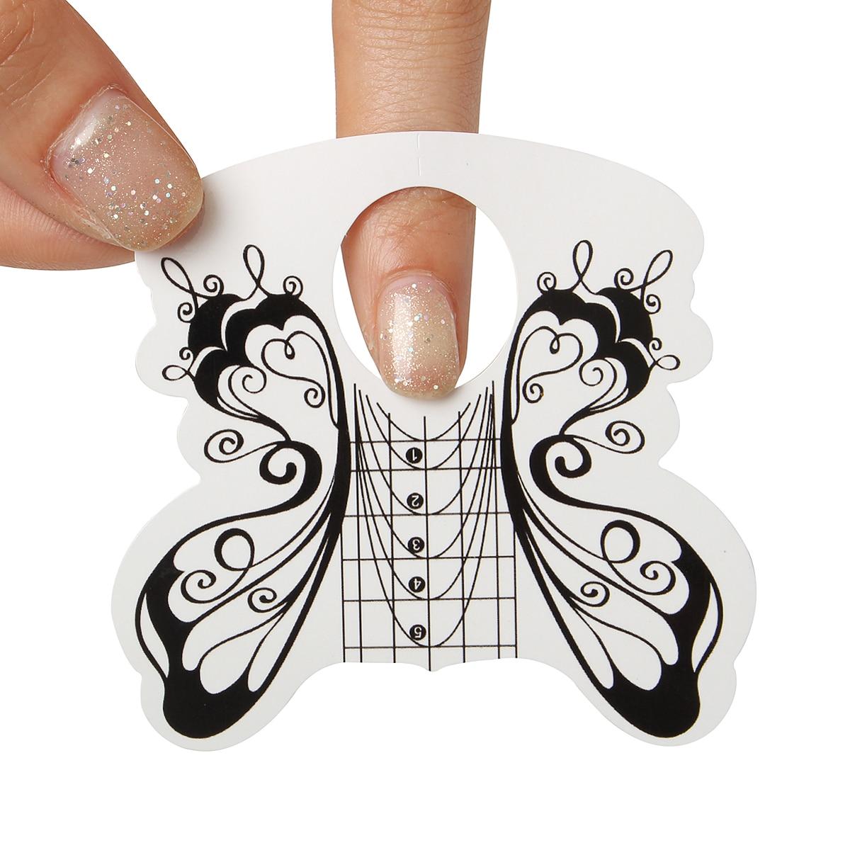 Идеальные ногти : трафареты для 91