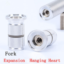 Carbon Fiber Front Fork Expansion Hanging Heart Bicycle Headset Bike Expansion Screw Lock Core Screw Bike Part(China)