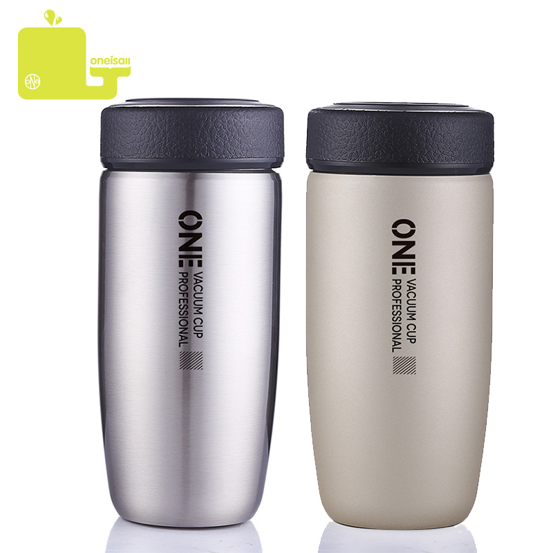 400ml Stainless Steel Vacuum Cup Thermos Flask Travel Water Bottle Cup Mug Hot