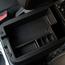 Car organizer fit for Mitsubishi Outlander ASX 2012-2015 central armrest holder container tray storage box accessories