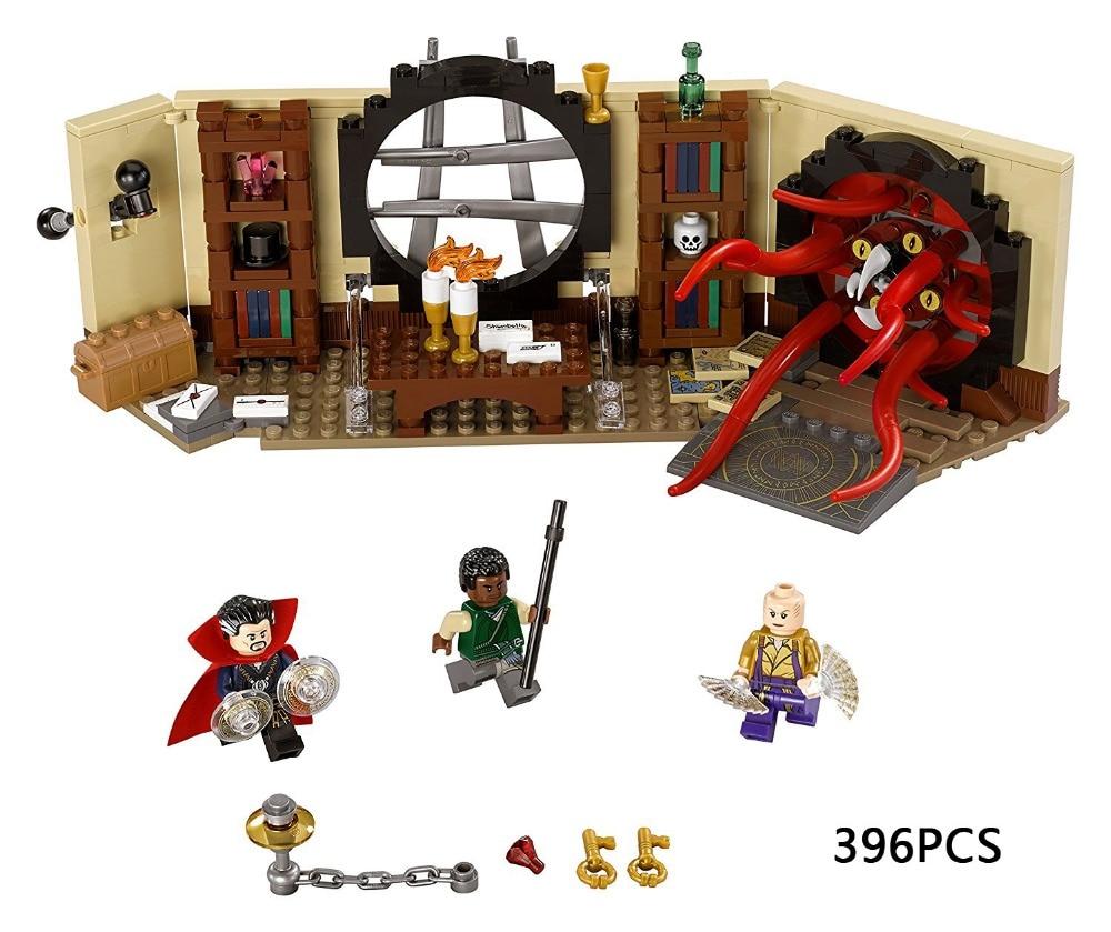 2017 New super heroes Doctor Stranges Sanctum Sanctorum building block Ancient One figure compatible 76060 brick toy for kids<br>