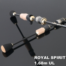 TOMA Lure Rods Carbon Fiber 1.68m 2 Section Spinning Fishing Rod Casting 562 UL Fast Action Travel Rod Japan Fishing Tackle(China)