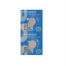 2Pcs/Lot RETAIL Brand New Renata LONG LASTING 371 SR920SW LR69 LR920 AG6 Watch Battery Button Coin Cell Swiss Made 100% Original(China)
