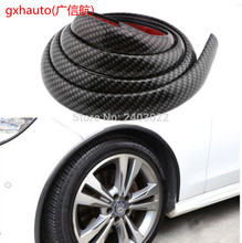 Scratch wheel eyebrow stripe Wheel fender gum paste Automotive rubber wheel eyebrow for Kia Rio K2(China)