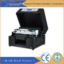 2016 High quality uv printer price   UV flat bed printer for metal