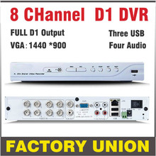 CCTV DVR 8 Channel H.264 Full D1 DVR 8ch Recorder Support Network Mobile Phone DVR Recorder 8ch DVR  CCTV Security System