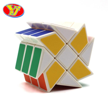 YJ Interesting Toys Ultra-smooth Speed Magic Cube Colorful Puzzle Magic Cube Special Kids Educational Toys Free Shipping -50