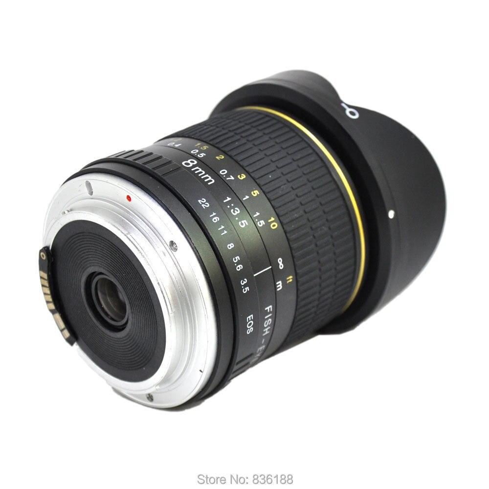 JINTU 8mm F/3.5-F22 Ultra Wide Angle Fisheye camera Lens for Nikon DSLR Cameras D70 D7500 D90 D7100 D90 D3300 D3400 D5400 d80 6