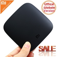 Original Xiaomi MI BOX TV BOX 3 Android 6.0 2G/8G Smart 4K Quad Core HDR Movie Set-top Box Media Player Netflix YouTube Google(China)