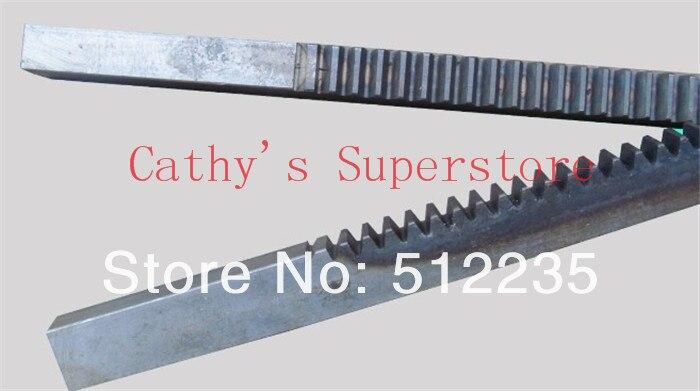CNC Rack Gear Mod 2.5 45# Steel Spur Gear 25x28 Length in 1000mm gear rack<br>