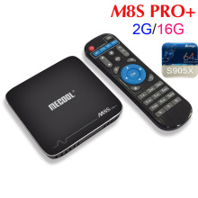 Buy 5pcs/lot MECOOL M8S PRO+ 2GB/16GB Amlogic S905X Android 7.1 TV Box Quad Core WIFI HDMI 2.0 4K*2K PK T6 X96 for $239.00 in AliExpress store