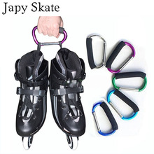 Japy Skate Multifunctional Roller Skates Shoes Handle Buckle Metal Hook Hasps for Inline Slalom Skating Shoes(China)