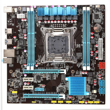 High end Intel X79 LGA 2011 motherboard micro-ATX LGA2011 desktop mainboard USB3.0 DDR3 1333/1600 quad channel max 32G