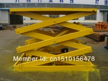 SJG1.5-4.5 Hydraulic Scissor Lift Table Which Designed For Estonia Client