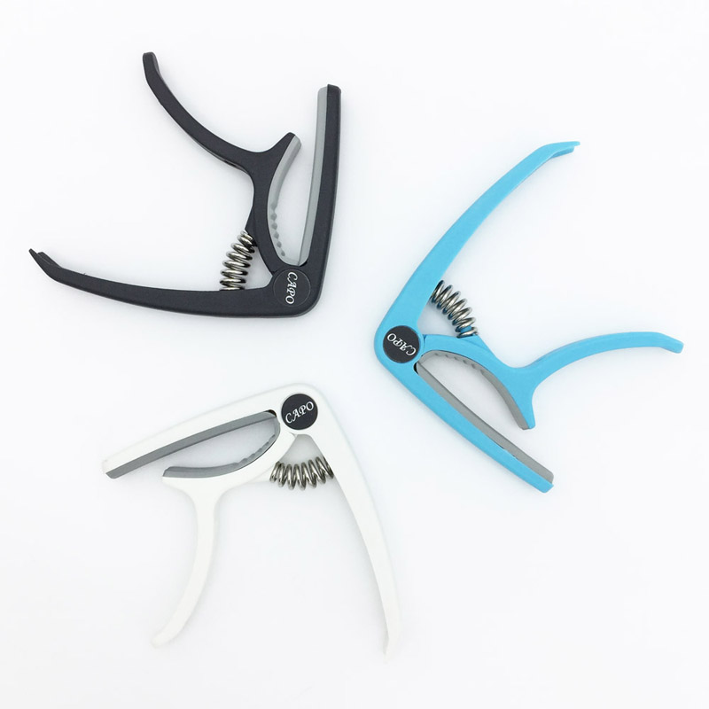 New Plastic Guitar Capo 3 Colors_08