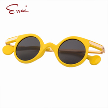 ERRAI 2017 Brand Designer Sun glasses Girls&Boys Sunglasses  Yellow General Goggles wayfarer wayfare men sunglasses oculos gafas