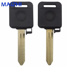 maizhi Transponder Car key Shell For Nissan Teana Versa Livina Sylphy Tiida Sunny March X-trail Remote Fob Case Replacement